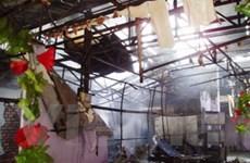 Vụ cháy tại TP.HCM làm 5 ngôi nhà bị thiêu rụi