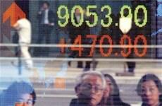 Chứng khoán châu Á đi lên từ mức thấp nhất 3 tuần