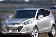 Hyundai thu hồi hơn 500 chiếc Tucson 2010 tại Mỹ