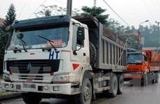 Thu giữ gần 170 tấn quặng sắt vận chuyển trái phép