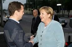 Thủ tướng Đức thăm Nga để thúc đẩy thương mại
