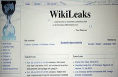 Thái Lan chặn trang WikiLeaks với lý do an ninh