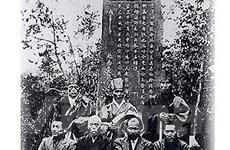Nhật Bản tặng bia tưởng niệm phong trào Đông Du