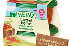 Heinz ra dòng sản phẩm mới cạnh tranh với Hipp