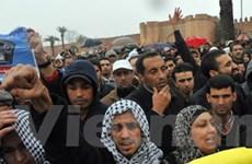 Làn sóng biểu tình ở Morocco, Tunisia và Libya