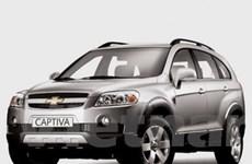 Lộ giá mẫu xe Chevrolet Captiva tại thị trường Anh