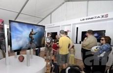 LG ra mắt mẫu tivi 3D đầu tiên tại thị trường Anh