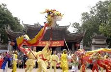 Nhiều hoạt động nghệ thuật tại Lễ hội Đền Đô