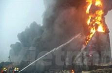 Nổ nhà máy hóa chất Trung Quốc, 9 người tử vong