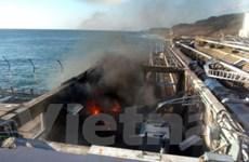 Cột tiếp điện cho Fukushima số 1 bị đổ do sụt cát