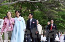 Hàn đề xuất gặp liên Triều về du lịch núi Kumgang