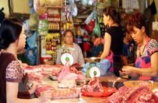 Giá hàng thực phẩm tại Hà Nội vẫn ở mức cao