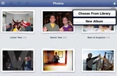 Rò rỉ hình ảnh của ứng dụng Facebook cho iPad