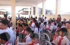 Trường Việt kiều ở Campuchia tổng kết năm học
