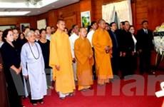 Lễ viếng nguyên Chủ tịch nước Võ Chí Công ở Lào