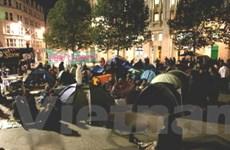 """Trắng đêm cùng người biểu tình """"chiếm London"""""""