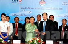 Liên doanh Lào-Việt bảo hiểm máy bay Lao Airlines