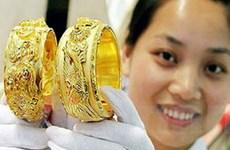 Vàng trong nước tăng trở lại ngưỡng 45 triệu đồng