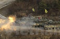 Hàn Quốc diễn tập quân sự gần biên giới Triều Tiên