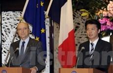 Nhật, Pháp bất đồng về việc gia tăng sức ép với Iran