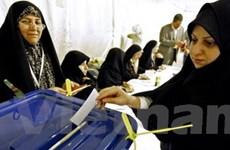 Iran bầu cử quốc hội khi mâu thuẫn với phương Tây