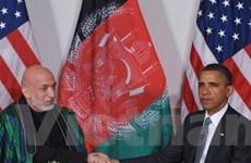 Mỹ-Afghanistan thúc đẩy quan hệ đối tác chiến lược