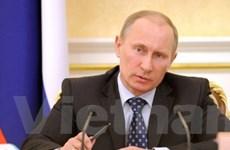 Ông Putin ra chỉ thị thực hiện cương lĩnh tranh cử