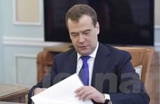 Thủ tướng Nga đệ trình thành phần chính phủ mới