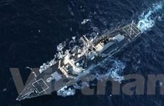 Mỹ cử Tàu đánh chặn tên lửa đạn đạo tới vùng Vịnh