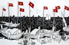 Trao giải cuộc thi sáng tác tranh cổ động về biển, đảo