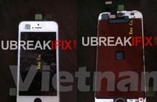 Những hình ảnh rò rỉ về mặt trước của iPhone mới