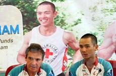 Giao lưu VĐV siêu marathon xuyên Việt vì nước sạch