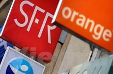 Hai nhà mạng lớn nhất Pháp bị phạt 183 triệu euro