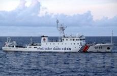 Ba tàu Trung Quốc đi vào vùng tranh chấp với Nhật
