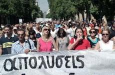 Dân Hy Lạp biểu tình phản đối kế hoạch tái cơ cấu