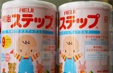 Hãng sữa Meiji tạm ngừng kinh doanh ở Trung Quốc
