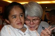 Nhân dân thế giới ủng hộ nạn nhân da cam Việt Nam