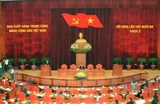 Khai mạc Hội nghị Trung ương Đảng lần thứ 13