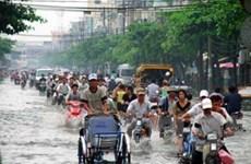 TP.Hồ Chí Minh: Mưa gây ngập, ách tắc giao thông
