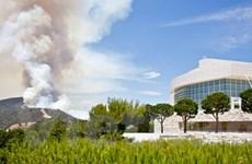 Mỹ: 2.000 người tại Getty Center sơ tán do hỏa hoạn
