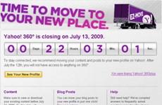 Yahoo! 360 chính thức… vĩnh biệt cộng đồng mạng