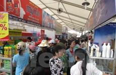 Khai mạc hội chợ hàng Việt Nam chất lượng cao