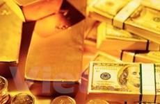 Giá vàng tăng theo thị trường chứng khoán