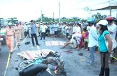 Bạc Liêu: Phóng xe nhanh, 2 người chết tại chỗ