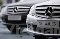 Các dòng xe hơi sang trọng của Đức vẫn ế ẩm