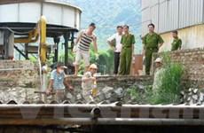 Công ty giấy xả nước thải gây ô nhiễm sông Mã