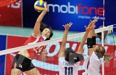 Việt Nam-Ukraine tranh cup bóng chuyền VTV
