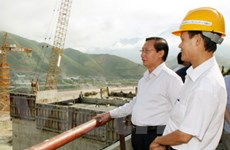 Đoàn UBTV Quốc hội giám sát Thủy điện Sơn La