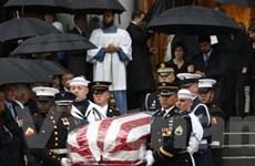 Mỹ tổ chức đám tang ông Edward Kennedy