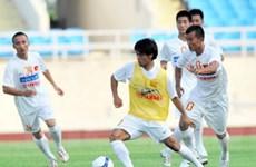 Đội U23 Việt Nam loay hoay trò chơi xếp hình